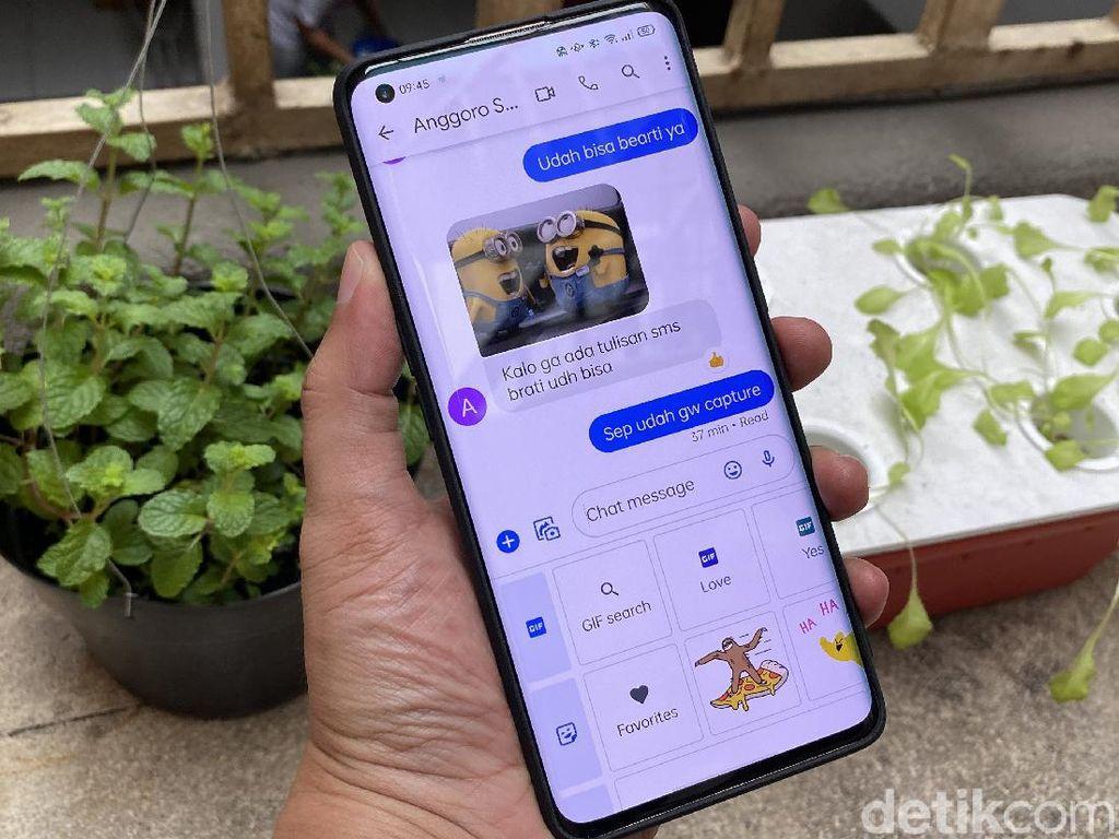Aplikasi SMS Android Kini Seseru WhatsApp