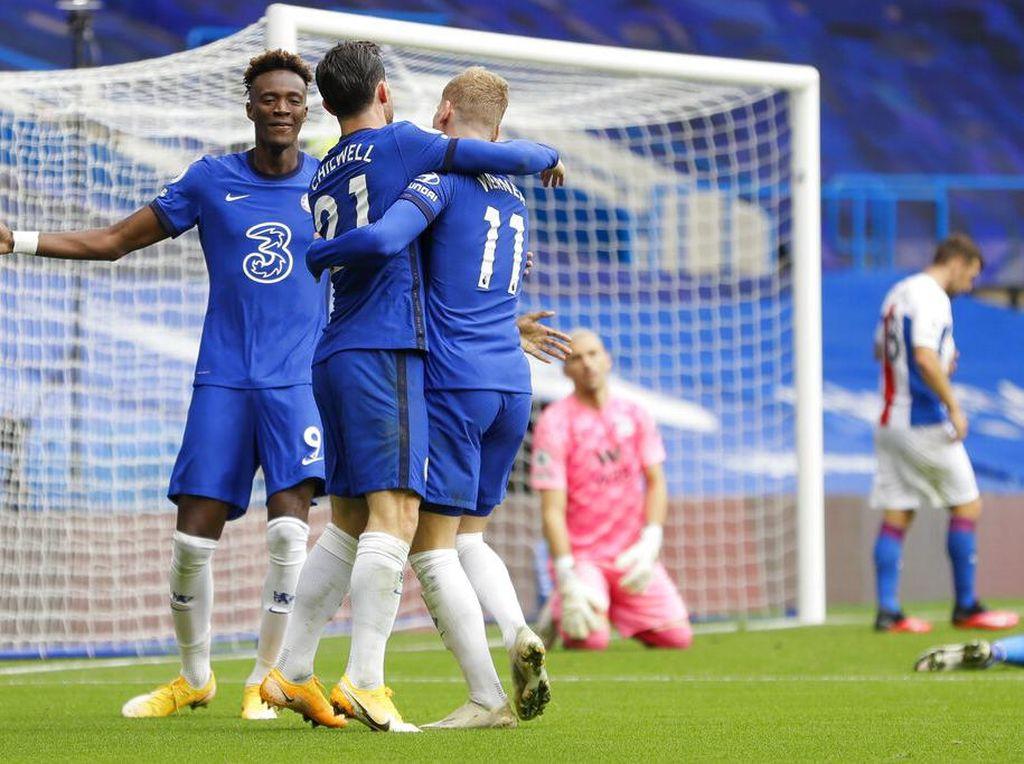 Chelsea Vs Crystal Palace: The Blues Libas The Eagles 4-0