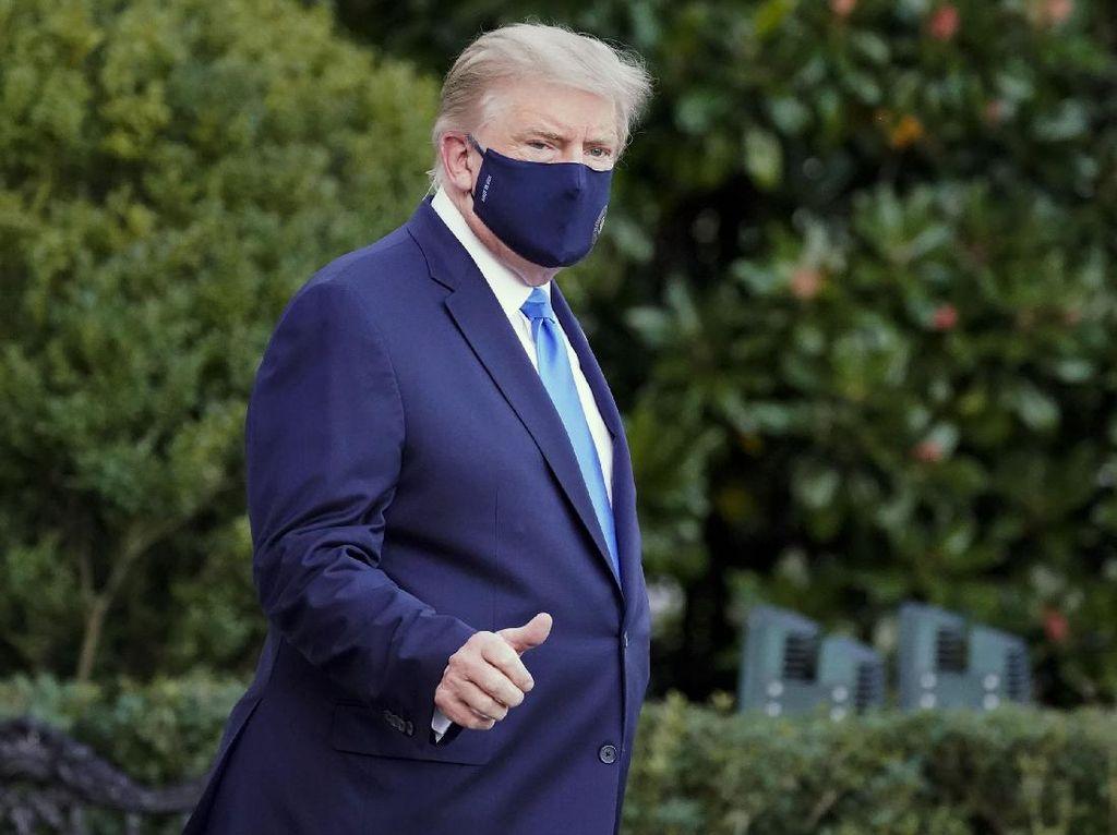 Perawatan Trump untuk COVID-19, dari Obat Eksperimental sampai Dexamethasone