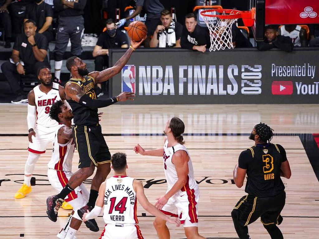 Final NBA 2020: LA Lakers Vs Miami Heat Kini 2-0