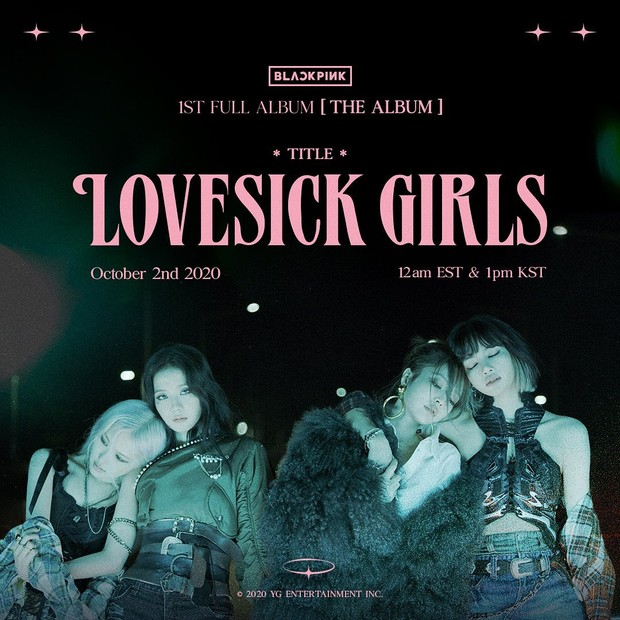 Musik video Lovesick Girls menampilkan empat personel BLACKPINk, jennie, Jisso, Lisa, juga Rose sebagai model video klip.