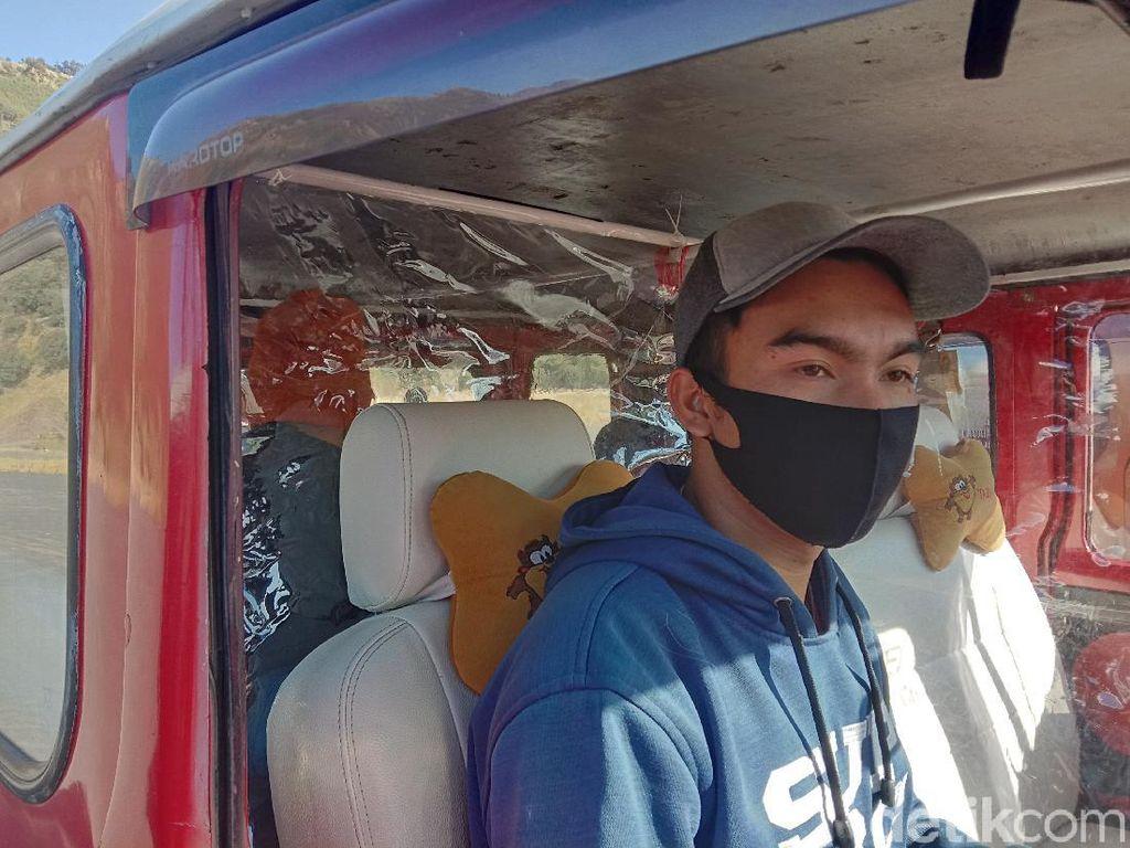 Keren! Mobil Hardtop di Bromo Juga Taati Protokol Kesehatan