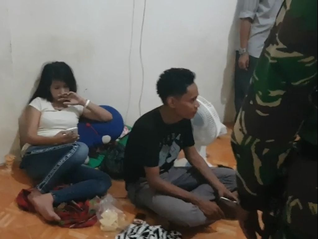 Lagi Ngamar, Sejumlah Pasangan Terjaring Razia di Polman