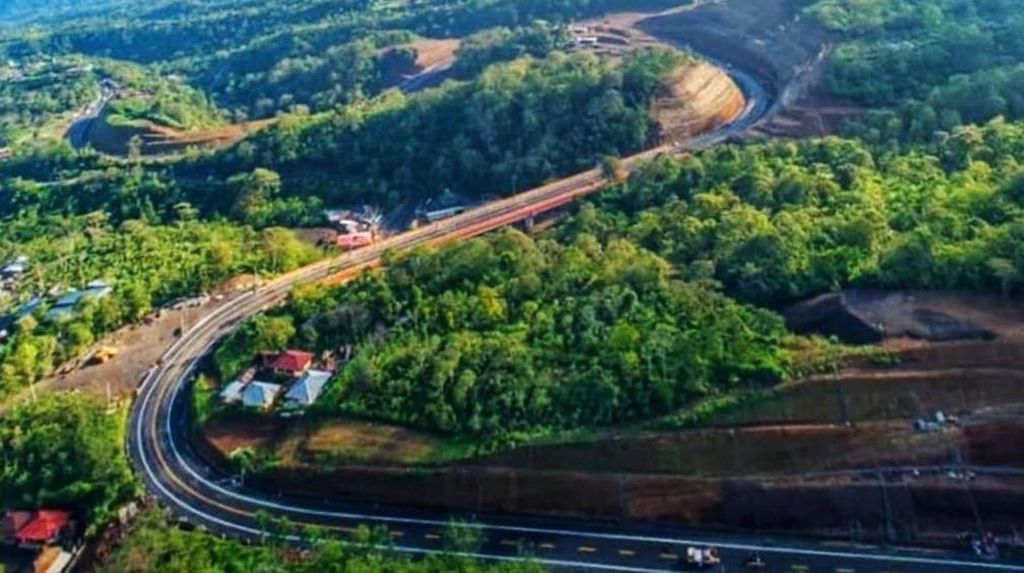 Mengintip Pembangunan Jalan Pintas di Bali