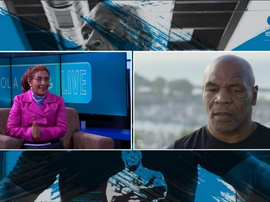 Susi Pudjiastuti Tanya Kehidupan Mike Tyson di Penjara Hingga soal Islam
