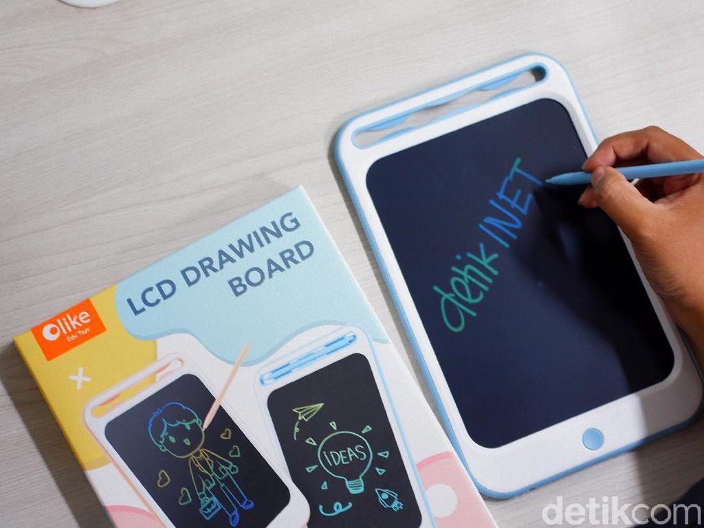 Tablet Harga Rp 100 Ribuan untuk Anak Kecil Corat-coret