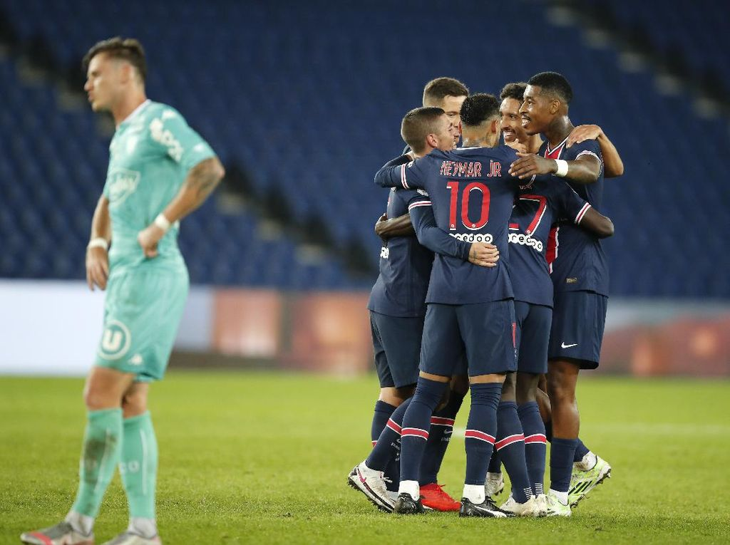 PSG Vs Angers: Pesta Gol, Les Parisiens Menang 6-1