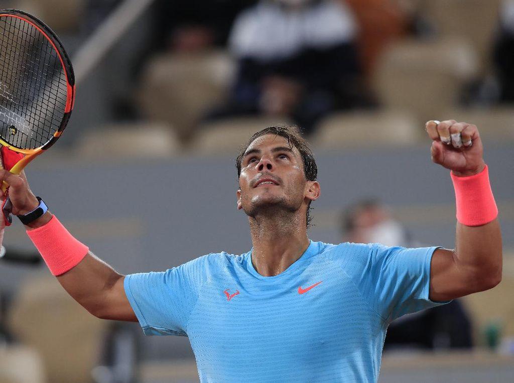 Prancis Terbuka: Rafael Nadal Melaju ke 16 Besar