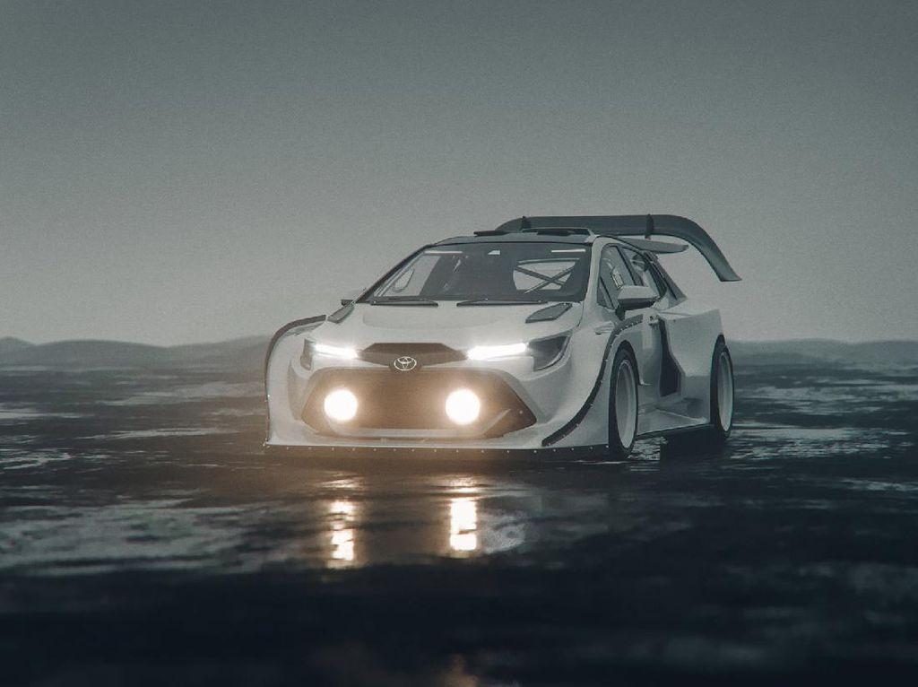 Saat Toyota Corolla GR Hatchback Ikut Rally