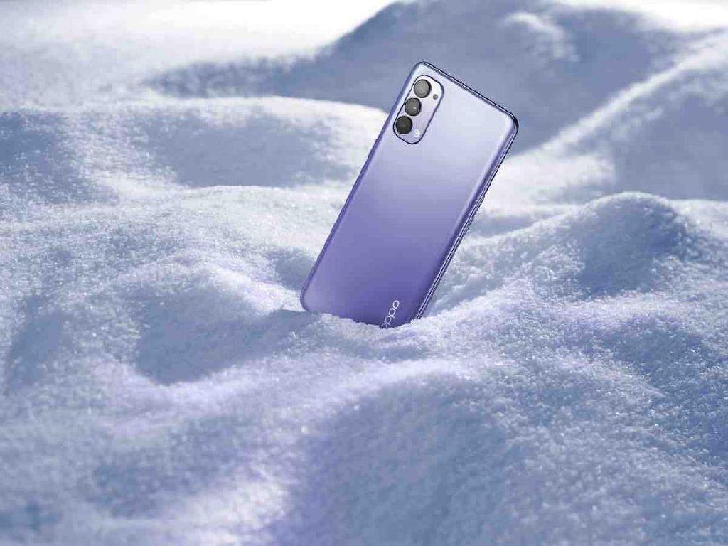 Oppo Hadirkan Reno4 Nebula Purple yang Tampil Unyu