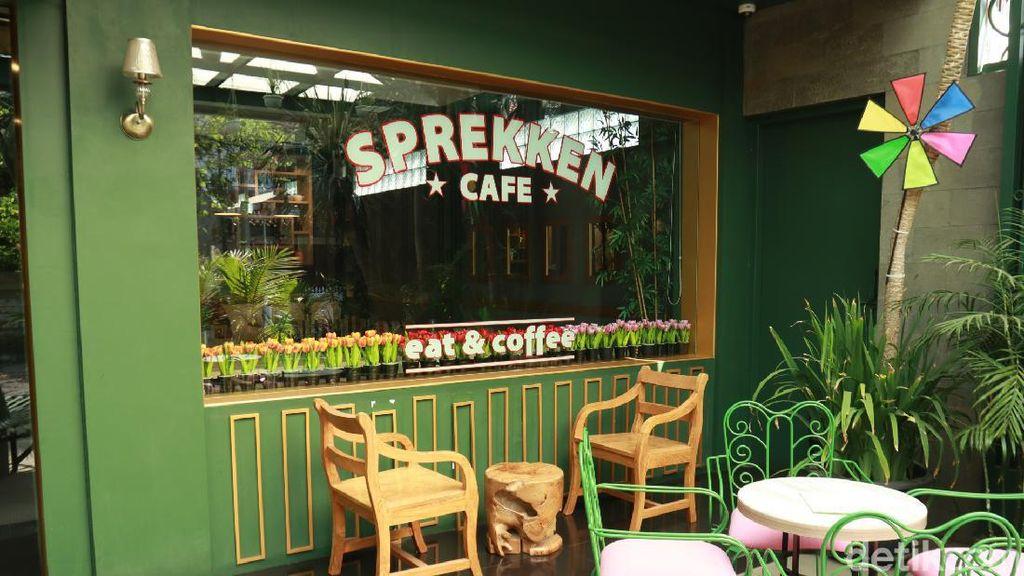Foto: Rekomendasi Kafe Lucu Bergaya Belanda di Bandung
