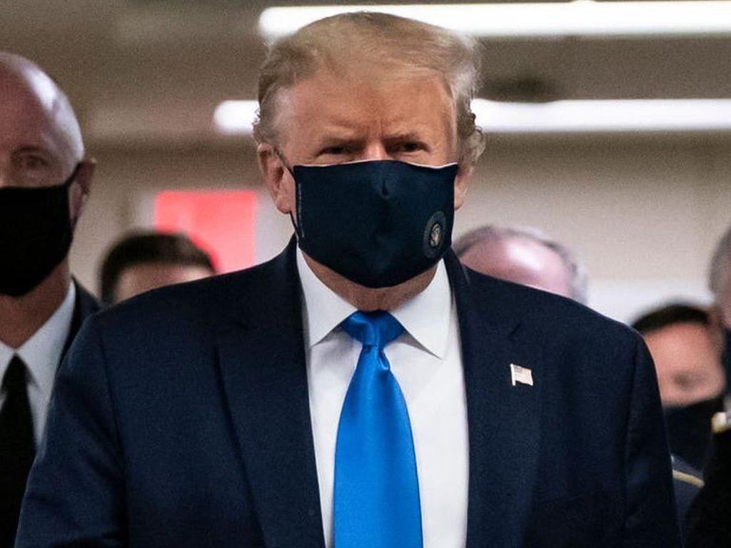 Trump Diberi Dexamethasone, Kondisinya Kritis?