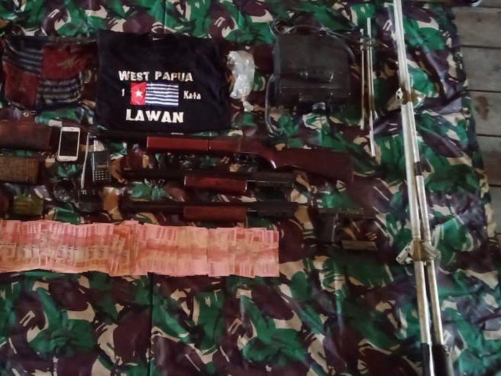 1 KKSB Anak Buah Egianus Kogoya Tewas Disergap TNI di Nduga, Pistol Disita