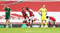 Blunder David Luiz Warnai Kemenangan Arsenal 2-1 Atas Sheffield