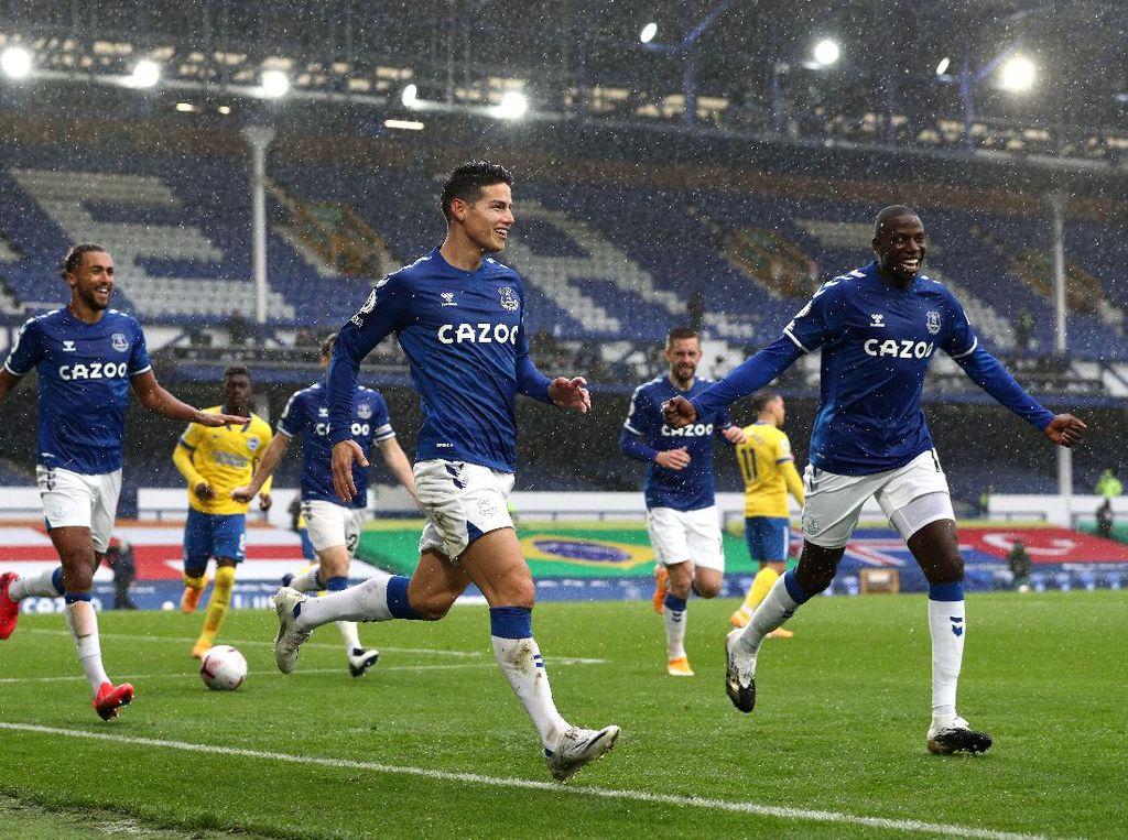Video James Rodriguez dkk Lumat Brighton 4-2