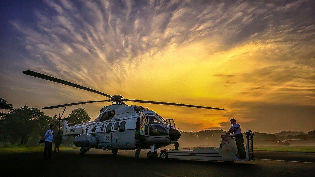 Luar Biasa Keren! Foto Pesawat Tempur Jepretan Sandriani Permani