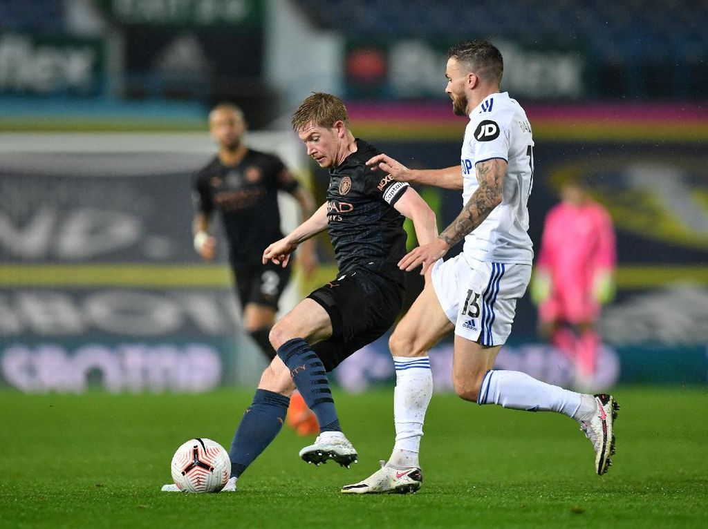 Leeds United Vs Manchester City Berakhir Imbang 1-1