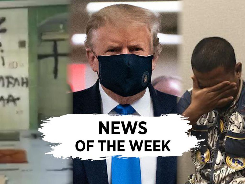 News Of The Week: Pengunggah Kolase Maruf-Kakek Sugiono, Trump Positif Corona