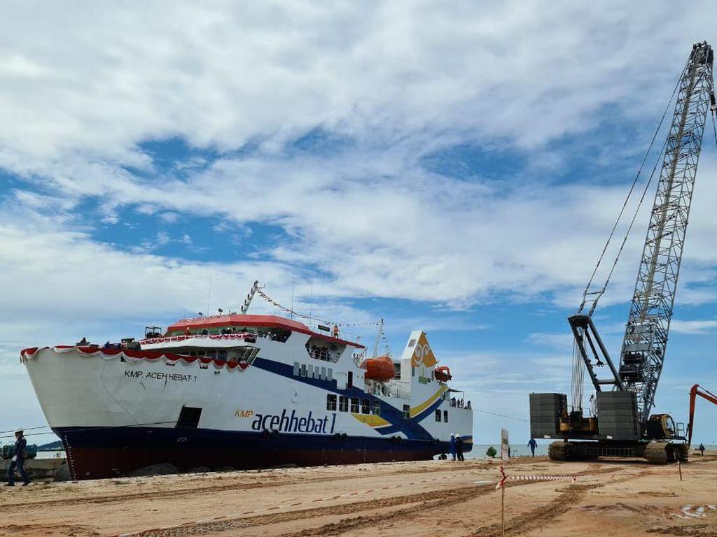 Kapal Perdana Aceh Diluncurkan, Ini Penampakannya
