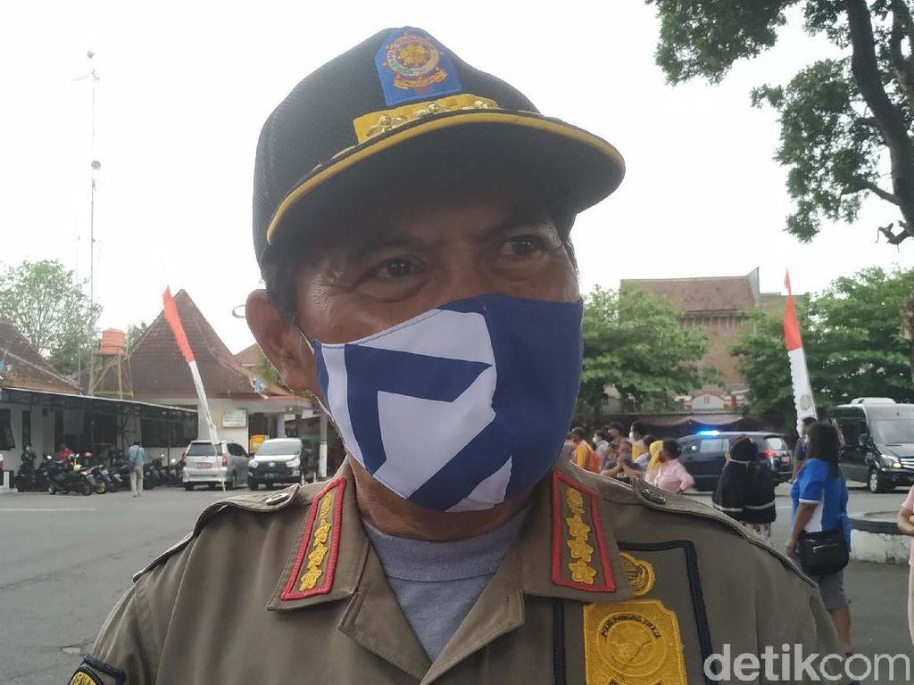 Satpol PP Kota Blitar Sebut Masyarakat Makin Disiplin Pakai Masker