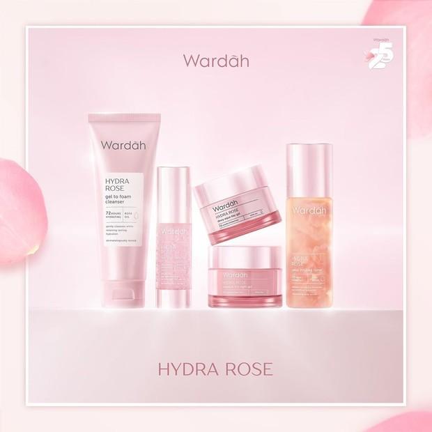 Wardah resmi memperkenalkan produk skincare barunya yang bertajuk Hydra Rose Series.