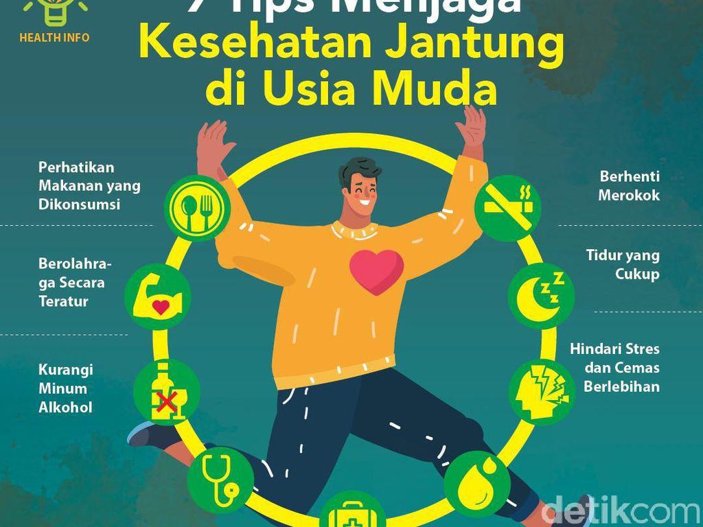 9 Tips Menjaga Kesehatan Jantung di Usia Muda