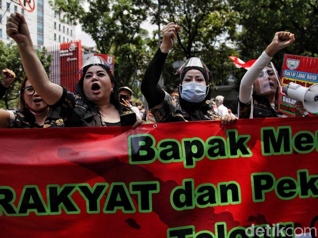 Aksi Para Pekerja Hiburan Malam Tuntut Cabut PSBB Jakarta