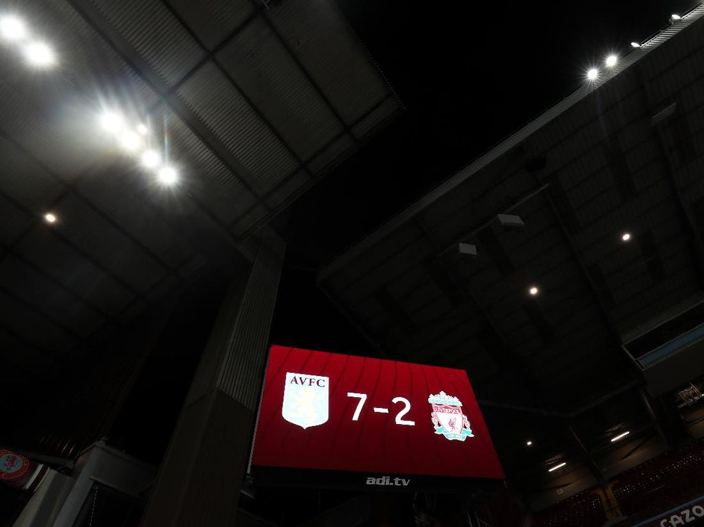 Hal-hal Ini yang bikin Liverpool Dihantam Aston Villa 2-7