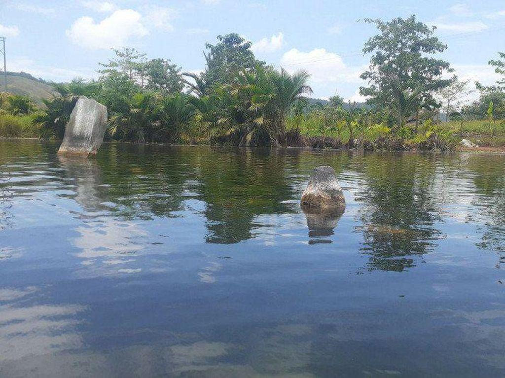 Danau Sentani Surut, Harta Karun Zaman Purbakala Muncul ke Permukaan
