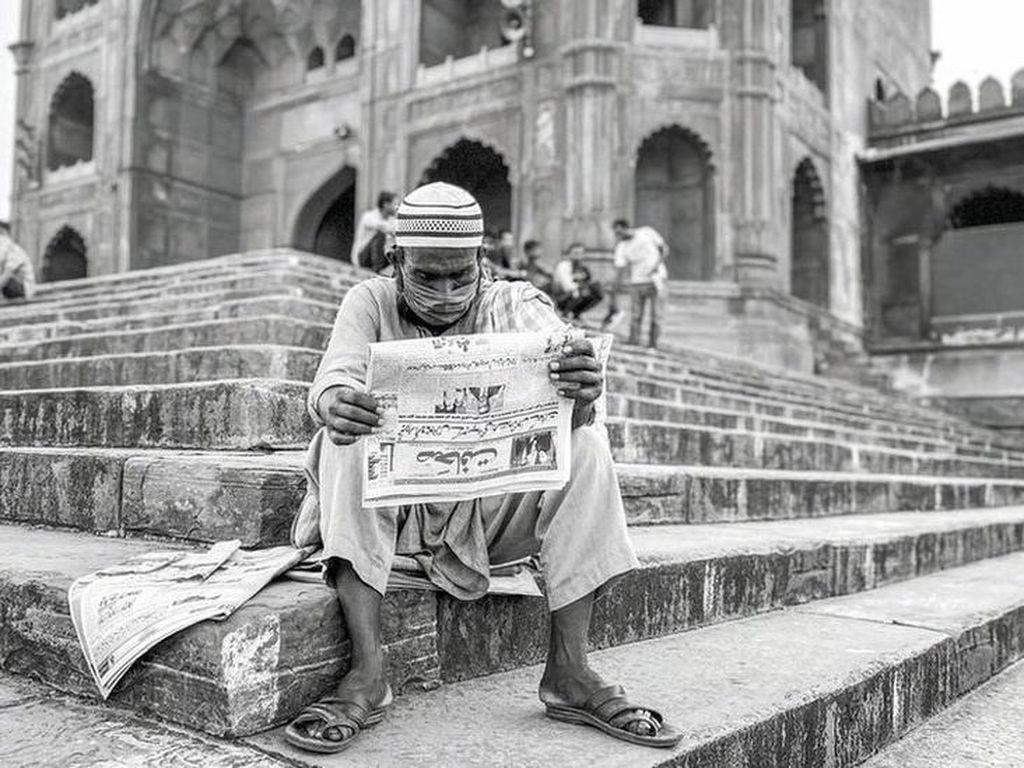 Saat Ibu Kota India yang Padat Penduduk Berubah Jadi Kota Hantu