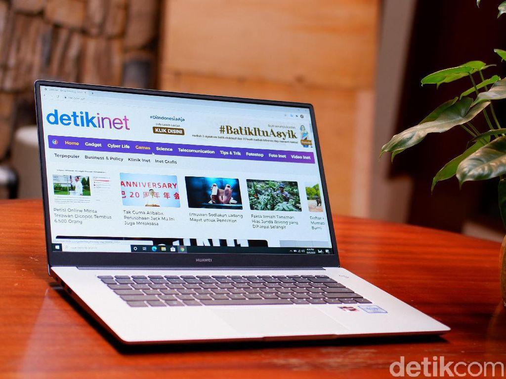 Unboxing MateBook D15, Laptop Rp 8 Jutaan untuk Belajar Online