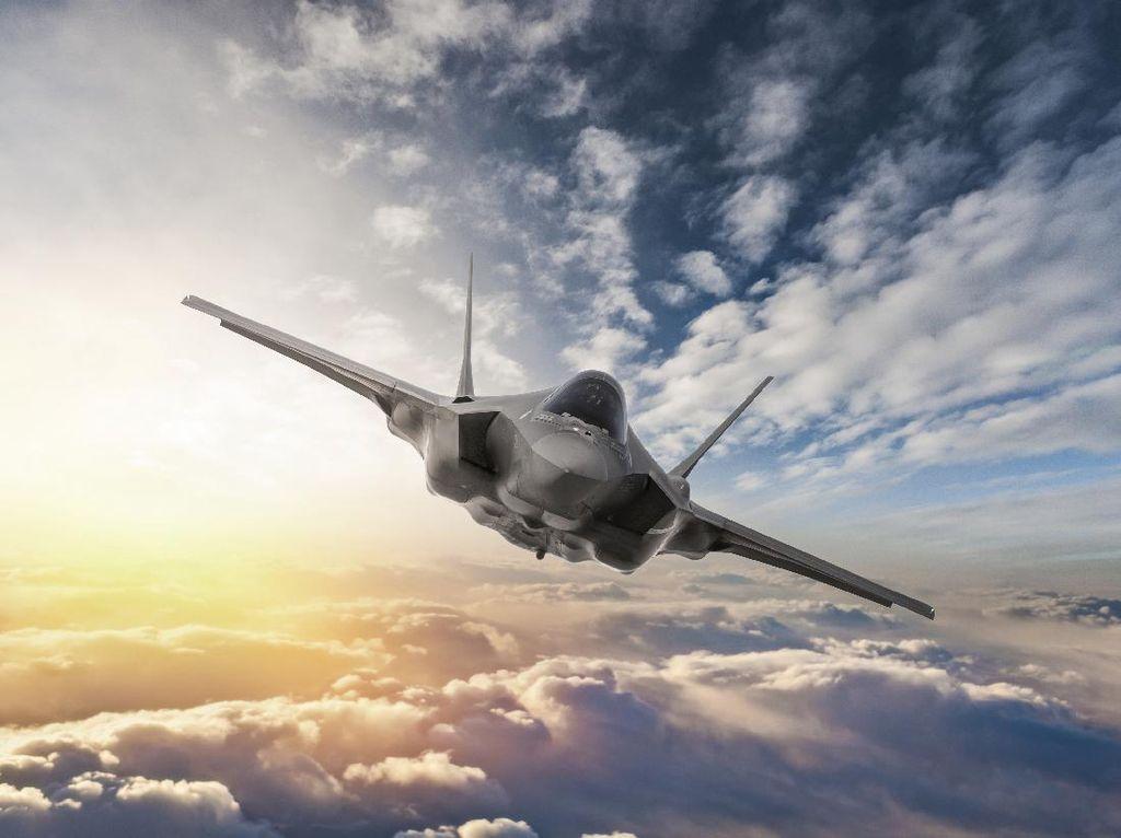 Detik-detik Jet Rusia Cegat Pesawat Pengintai AS