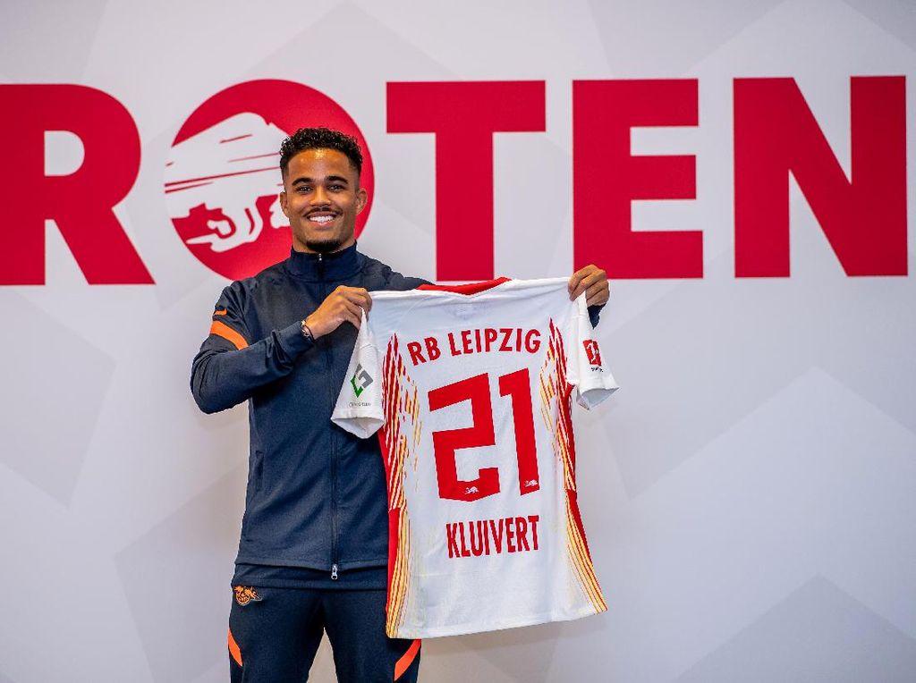 Gabung RB Leipzig, Kluivert Mencari Menit Bermain