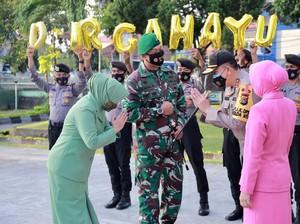 HUT TNI Ke-75, Kapolda NTB: Yang Ganggu Soliditas TNI-Polri Tak Akan Berhasil