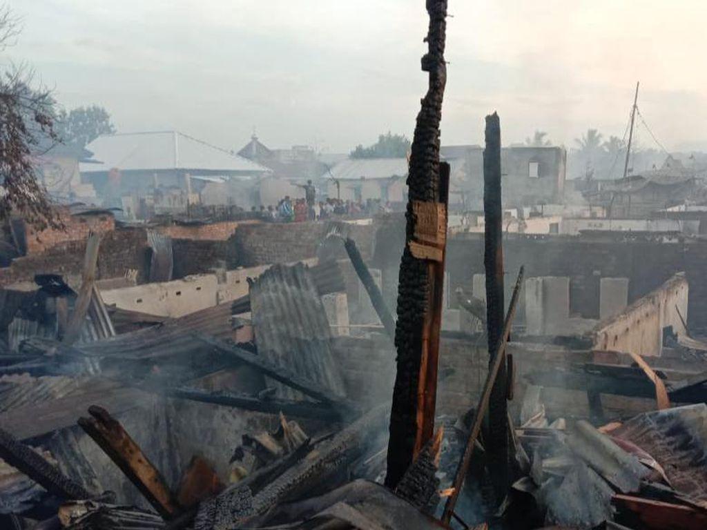 Kebakaran Permukiman di Lahat, 81 Rumah Hangus-Korban Jiwa Nihil