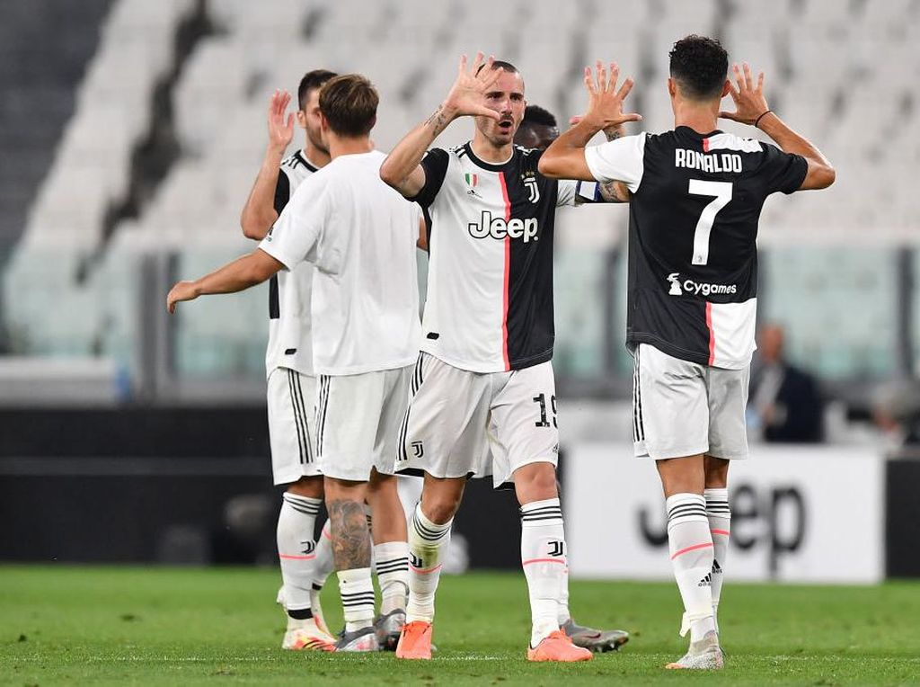 Kekaguman Leonardo Bonucci pada Cristiano Ronaldo