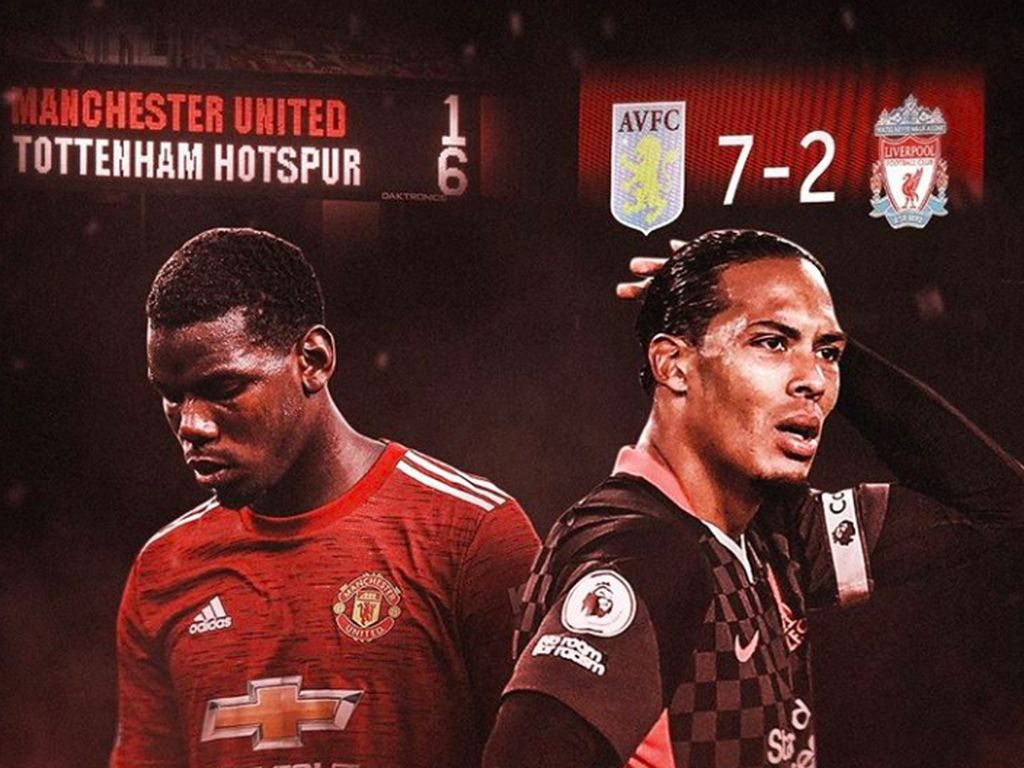 Meme Lucu Manchester United dan Liverpool Kompak Dibantai