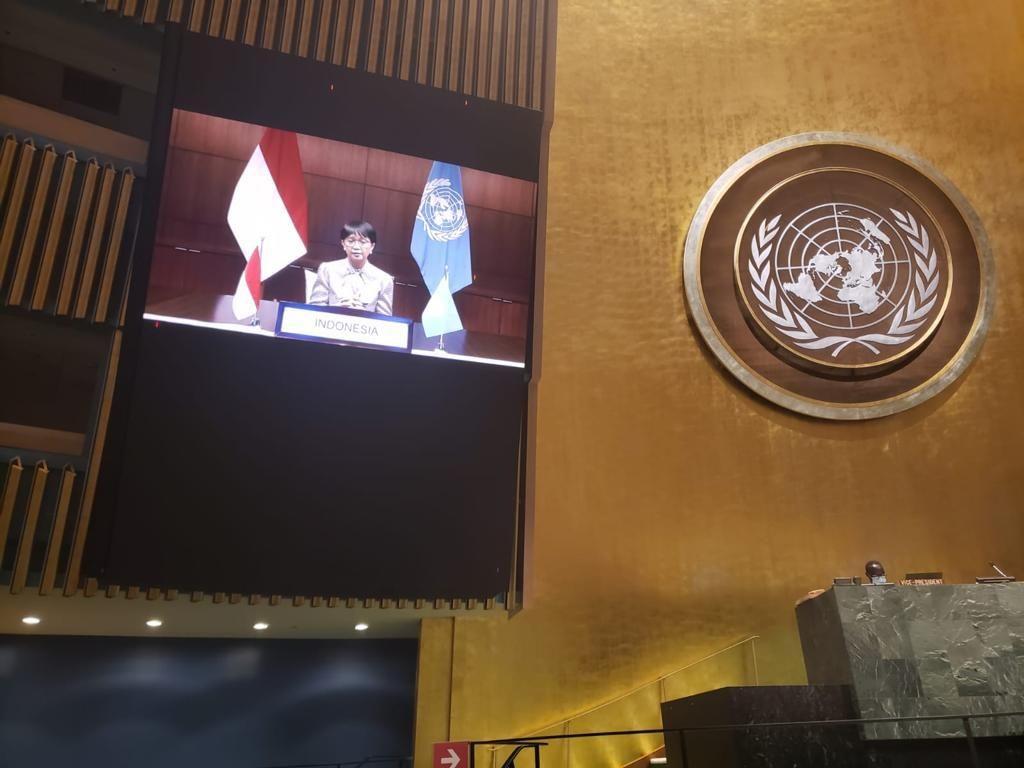 Di Sidang Umum PBB, RI Dorong Penghapusan Total Senjata Nuklir
