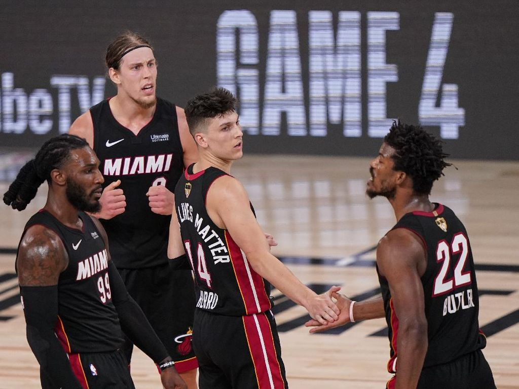 Final NBA 2020: Heat Kalahkan Lakers 115-104 di Gim Ketiga