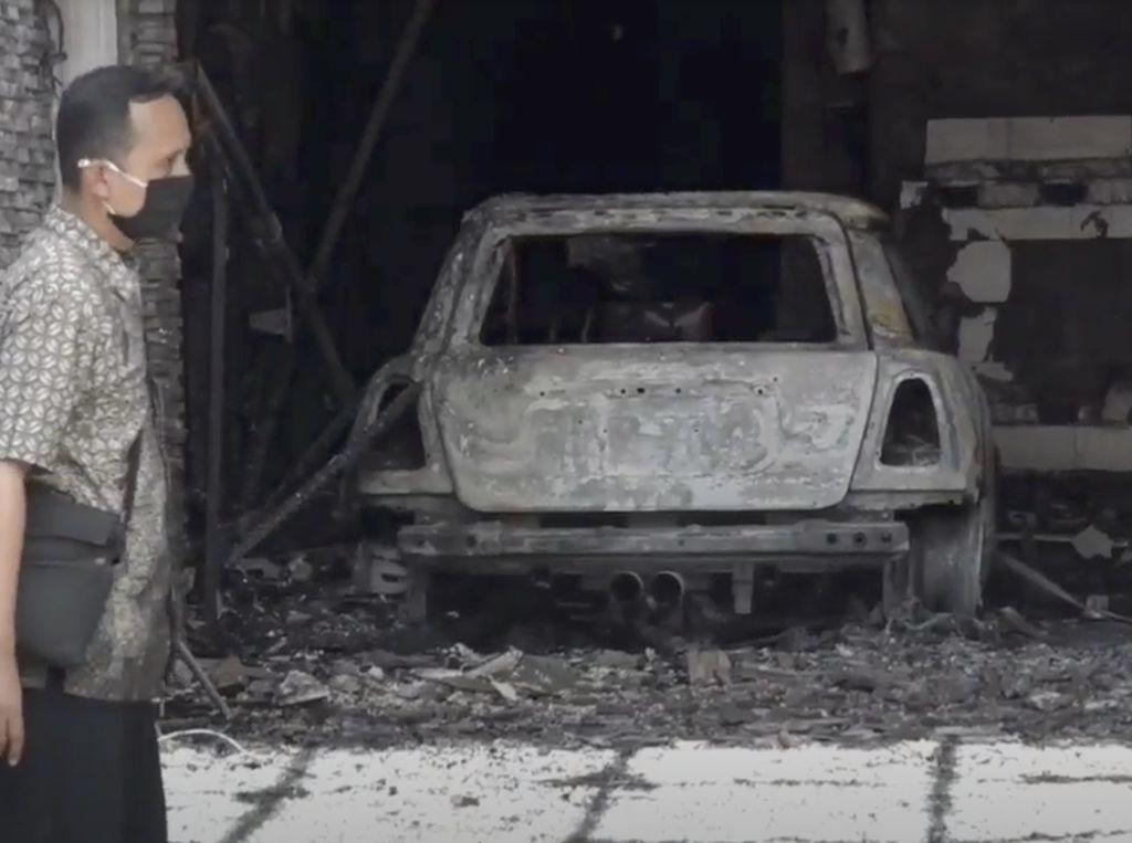 MIINI Cooper Parkir di Garasi Hangus Terbakar, Begini Tips Pencegahannya