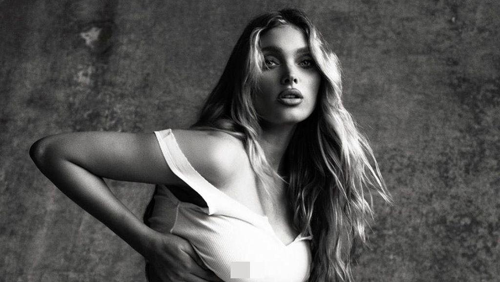7 Foto Seksi Model Victorias Secret Elsa Hosk Pamer Kehamilan