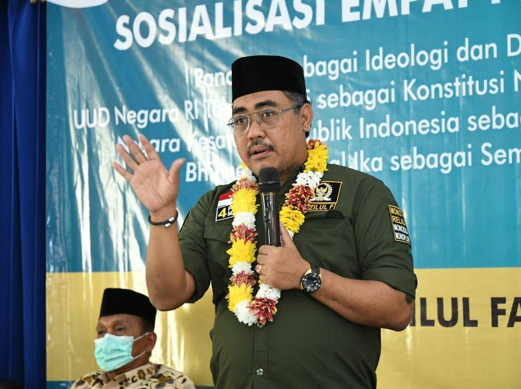 Wakil Ketua MPR Harap Warga Pilih Pemimpin Bervisi Misi 4 Pilar