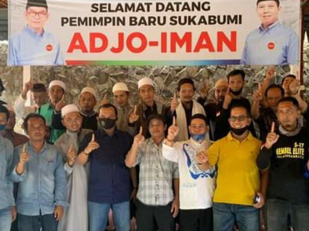 Pilbup Sukabumi, Paslon Adjo-Iman Klaim Didukung Mantan Kades dan Camat