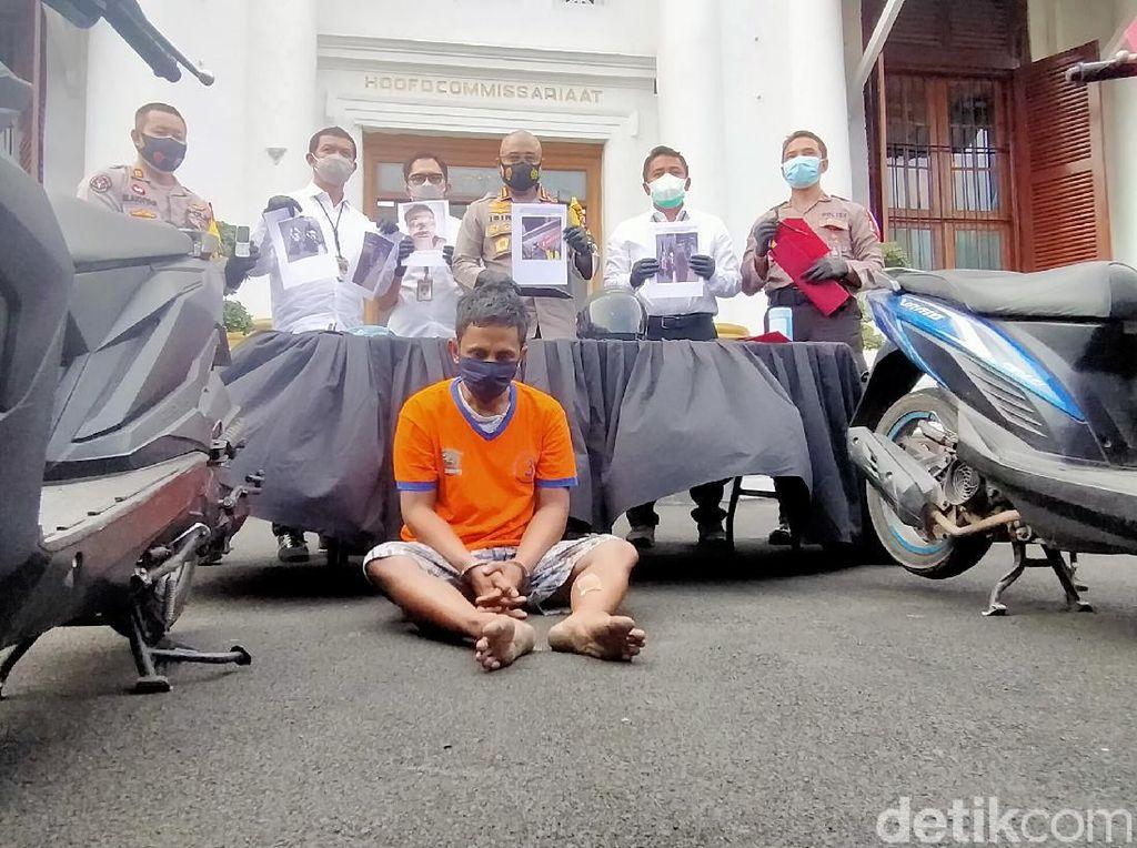 Melawan Saat Ditangkap, Pelaku Curanmor di Surabaya Dikirim ke Akhirat