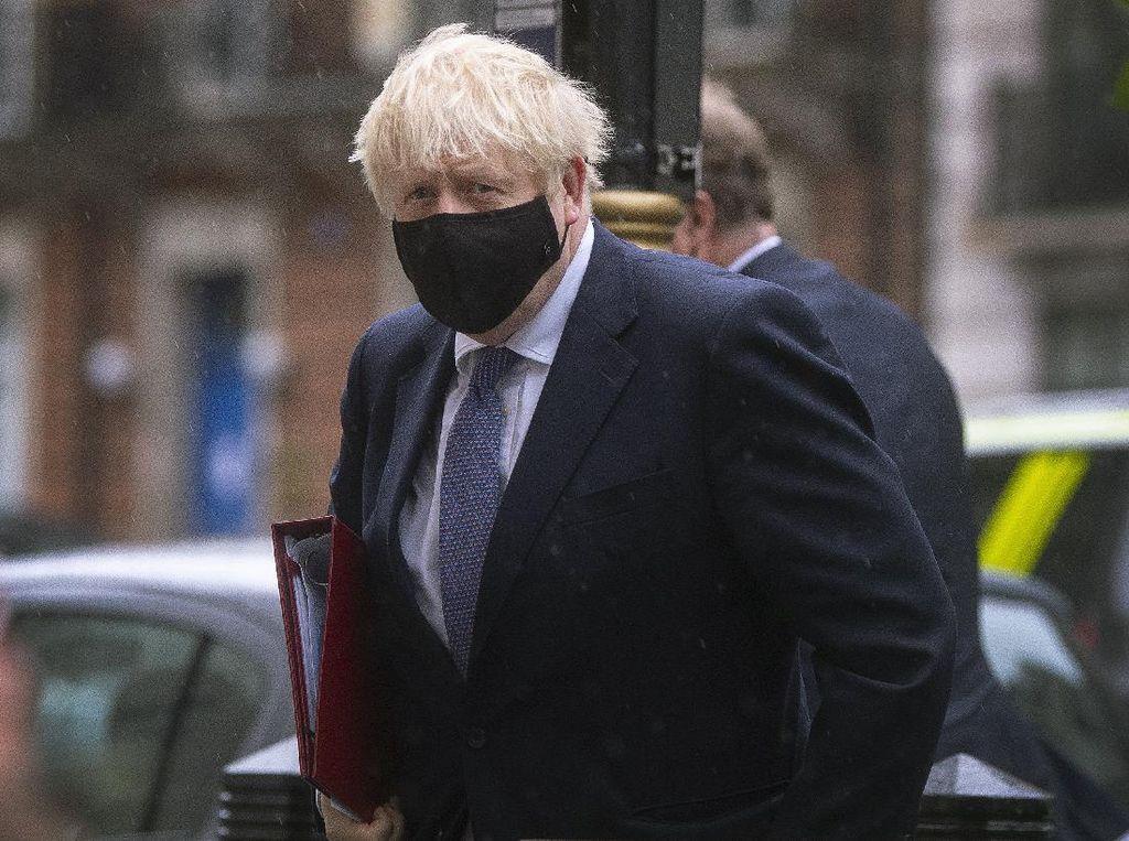 Kala PM Inggris Penyintas Corona Yakin Trump Baik-baik Saja