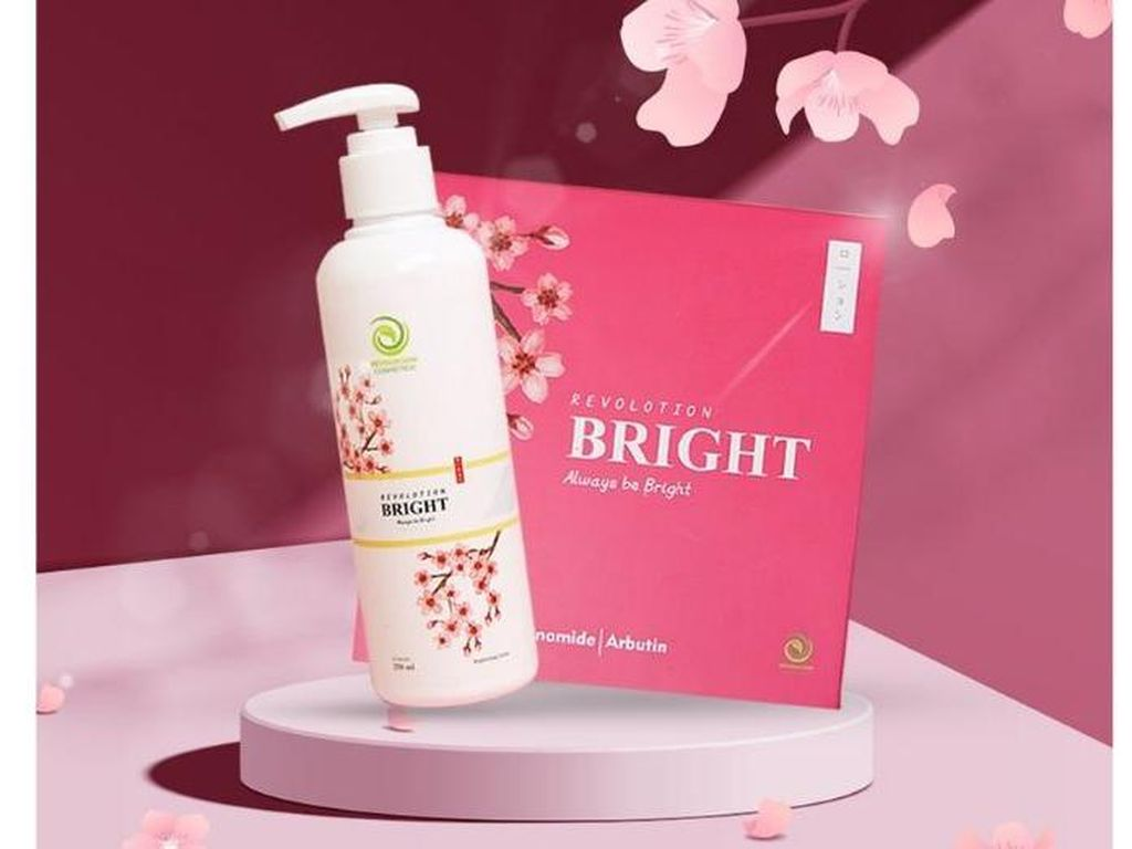 Revolotion Bright, Whitening Body Lotion Pertama Berteknologi Nano