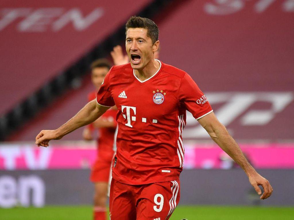 Bayern Vs Hertha: Quat-trick Lewandowski Bawa Die Roten Menang 4-3