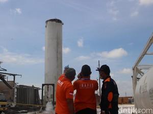 40 Rumah Rusak Akibat Tabung Nitrogen Perusahaan di Kalbar Meledak