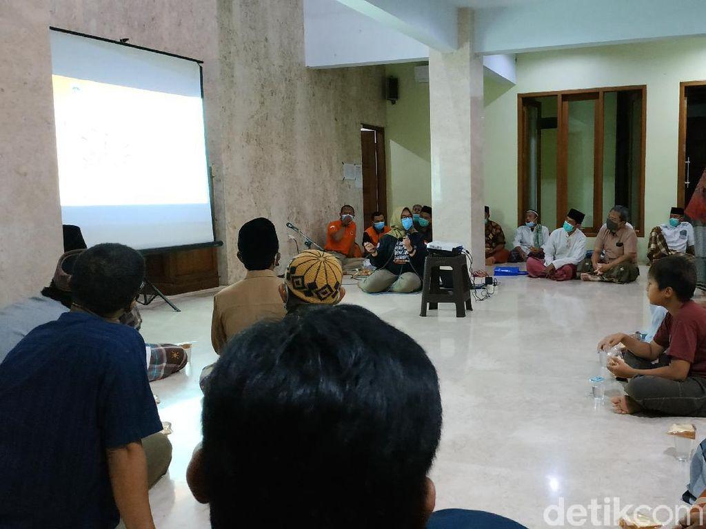 Takmir Masjid di Pacitan Gelar Sosialisasi Mitigasi Tsunami 20 Meter