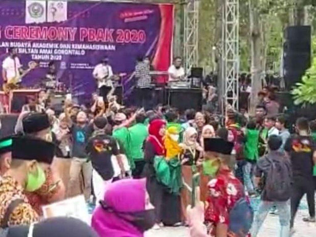 Buntut Viral Mahasiswa Joget Saat Pendemi, Warek IAIN Gorontalo Diperiksa